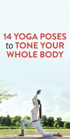 Yoga poses that work your whole body. #fitness #yoga