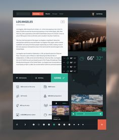Backpacker Planner by Victor Erixon - Web app interface UI UX Design Responsive, Ui Ux Design, Flat Design, Graphic Design, News Web Design, Site Design, Ui Kit, To Do App, Template Web
