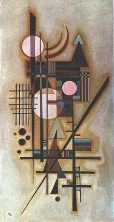 The Russian painter and graphic artist Wassily Kandinsky was one of the great masters of modern art, as well as the outst. Kandinsky Art, Wassily Kandinsky Paintings, Art Graphique, Henri Matisse, Art Plastique, Painting & Drawing, Bauhaus Painting, Bauhaus Art, Oeuvre D'art