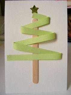 The Cutest 30 DIY Christmas Postcards