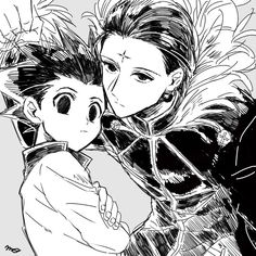 chrollo lucifer & gon // hunter x hunter – Hunter x Hunter Manga Anime, Anime Couples Manga, Cute Anime Couples, Manga Art, Anime Art, Anime Girls, Hunter X Hunter, Hunter Anime, Monster Hunter