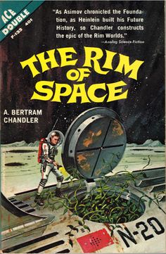 THE RIM OF SPACE #pulp #fiction #cover #art #scifi