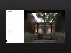 Kotra portfolio website by Zhenya & Artem