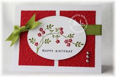 CC216 Happy Birthday by sparklegirl - Cards and Paper Crafts at Splitcoaststampers