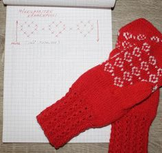 Kaksinkasin: Talviset mökkilapaset Knitting Socks, Knit Socks, Mittens, Crochet Hats, Diy, Fingerless Mitts, Knitting Hats, Bricolage, Fingerless Mittens