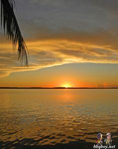 Sunset in Cienfuegos, Cuba. More photos and reasons we love Cuba: http://bbqboy.net/photos-of-punta-gorda-cienfuegos-and-reasons-we-love-cuba/ #cuba #cienfuegos