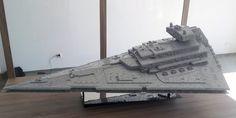 LEGO Star Destroyer on Zbudujmy.to! exhibition by Scharnvirk.deviantart.com on @deviantART