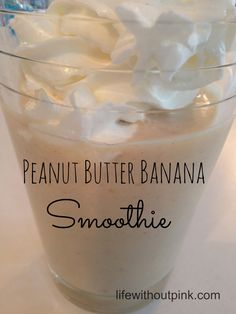 Peanut Butter Banana Smoothie Recipe use vanilla almond milk for extra sweetness if you want it for a treat.