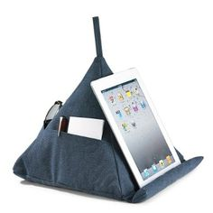 Amazon.com: Levenger Canvas Pyramid Pillow - Denim: Office Products - is it worth $40??