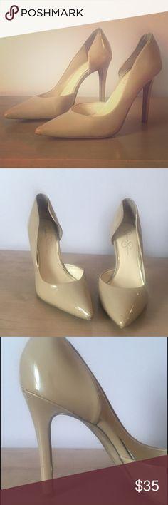 Jessica Simpson claudette nude pump Jessica Simpson claudette nude pump Jessica Simpson Shoes Heels