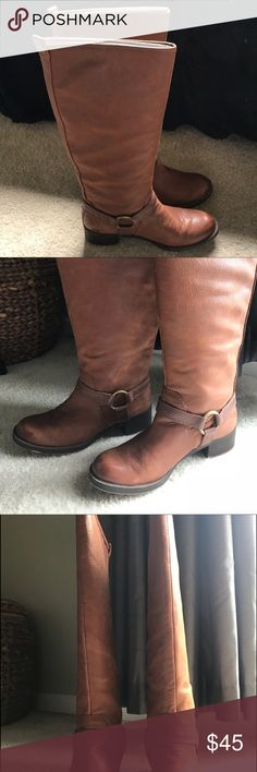 9f4d80d80d1 Shop Women s Lucky Brand size Combat   Moto Boots at a discounted price at  Poshmark. Description  Barely worn