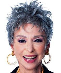 Gorgeous short gray Hairstyles for older women with pictures. List of 3 up-to-date, short hairstyles for older women looks more contemporary and stylish.