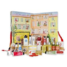 Featuring a selection of best sellers, this calendar is filled with 17 beauty products and a further 7 Provençal gift treats. Indulge a loved