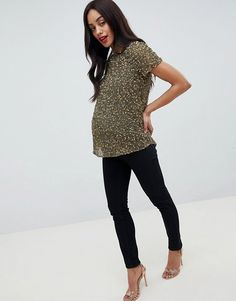 New Look Maternity Womens Jem Check Shirt