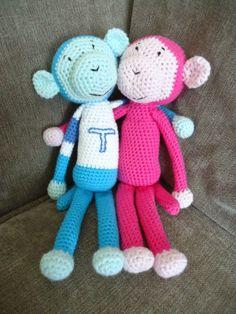 Dinki Dots Craft: Cute Crochet Monkey