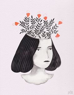 """Canadian illustrator Esthera """"Estée'"""" Preda is kind enough to welcome us into an incredible world of her creation. Where..."""