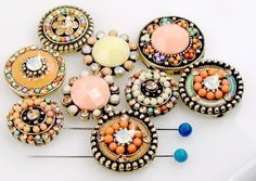 9 Unqiue Bead Slider Beads 11244 by MobileBoutiqueshop on Etsy