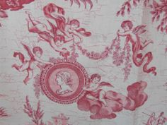 Superb Panel Antique French Toile De Jouy, Neoclassic Scenes With Cherubs C1920 http://www.ebay.co.uk/itm/171261382762?ssPageName=STRK:MESELX:IT&_trksid=p3984.m1558.l2649