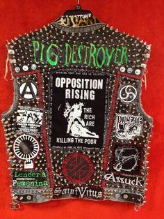Fuck Yeah Punk Jackets : ANARCHO CRUST PUNK - SWAMPUNX #punk