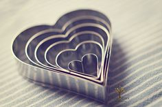 Small Big Bigger Heart Cookie Cutters #Baking #Cookie_Shape