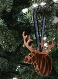 Make a 3-D Deer Head Ornament and gather tons of inspiration from the other handmade Christmas ornaments in our Handmade Christmas Ornament blog hop.