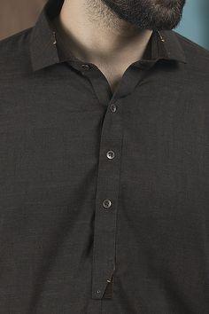Men's Wear Kameez Shalwar By Wasim Akram Ethnic Wear Series 2019 Gents Kurta Design, Boys Kurta Design, New Mens Fashion, African Men Fashion, Punk Fashion, Shalwar Kameez Pakistani, Pakistani Suits, Man Dress Design, African Shirts For Men