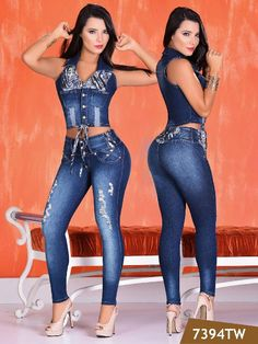 Awesome colombian jeans for sale. Denim Fashion, Star Fashion, Womens Fashion, Sexy Jeans, Skinny Jeans, Hot Outfits, Fashion Outfits, Girls Jeans, Jeans Style