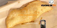 Calzoncini fritti ricetta Sorbillo La Prova del Cuoco | Cucina in tv