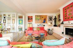 Farbgestaltung wohnen Wohnzimmer Farbideen Wohntrends 2015