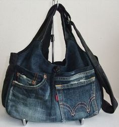 Exemplo de borsa jeans