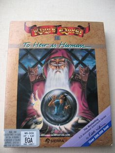 King's Quest III: To Heir Is Human (PC, 1987) Gold Box Sierra DOS Adventure