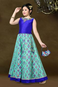 Girl's Long Gown - G1025