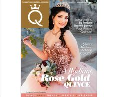 Obsessed with pink? We don't blame you! Be as radiant in a Rose Gold theme, check out Quince inspo, learn a few tips that will help you save money and more! Quinceanera Centerpieces, Quinceanera Party, Rose Gold Theme, E Magazine, Blame, Formal Dresses, Wedding Dresses, One Shoulder Wedding Dress, Most Beautiful