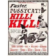 Faster Pussycat Kill Kill Canvas Art - (24 x 36)