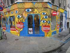 David Shillinglaw x Ben Slow New Mural In Paris