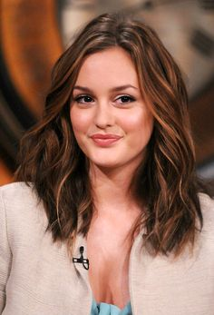 Leighton Meester - inspiration for when my hair gets a bit longer!