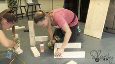 Industrial Farmhouse Bench - Shanty 2 Chic Informations About DIY Industrial Farmhouse Dining Bench