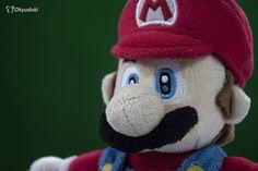 Pruebas fotograficas >.o #teddy #mario #bros #peluche