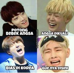 Cute Memes, Funny Memes, Funny Twitter Posts, Funny Meme Pictures, Cartoon Jokes, Bts Playlist, Bts Korea, Album Bts, Jokes Quotes