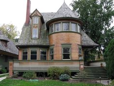 Frank Lloyd Wright. If you ever are in the Chicago area, visit Oak Park. It's Amazing