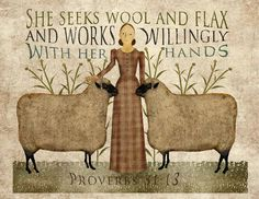 lovely Proverbs 31 woman