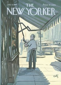 The New Yorker - Saturday, July 8, 1967 - Issue # 2212 - Vol. 43 - N° 20 - Cover by : Arthur Getz