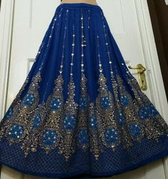 Ladies Indian Party Bohemian Skirt Hippie Gypsy Long Sequin