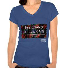 OFFICIAL Heughligans Charity (DARK Design) T Shirts