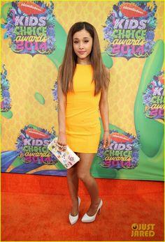 Ariana Grande at the 2014 Kids' Choice Awards