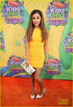 Ariana Grande at the 2014 Kids' Choice Awards