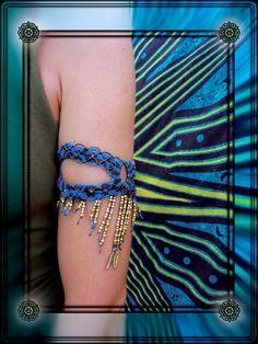 Golden wind bracelet by NagKanya on Etsy Bracelets, Etsy, Bracelet, Bangles, Bangle, Arm Bracelets, Super Duo