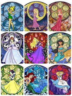 ディズニープリンセス 壁紙の画像 プリ画像 Arte Disney, Disney Fan Art, Disney Love, Disney Magic, Disney Pixar, Disney Characters, Disney Princesses, Disney Stained Glass, Disney Princess Quotes