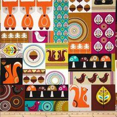 Michael Miller Norwegian Woods Fabric
