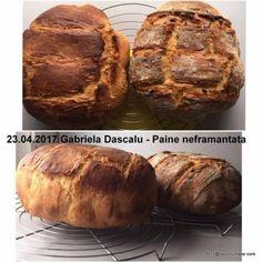Paine de casa neframantata reteta rapida   Savori Urbane Baked Potato, Ale, Food And Drink, Potatoes, Bread, Baking, Ethnic Recipes, Traditional, Ale Beer